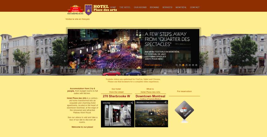 Hotel Place des arts